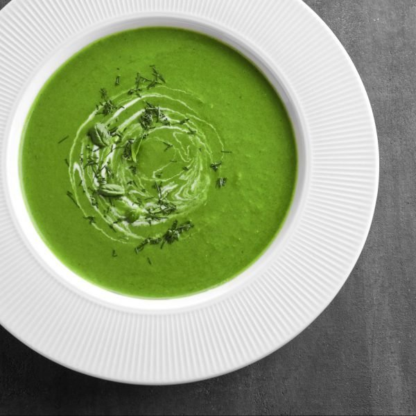 Cream of Fiddlehead Soup