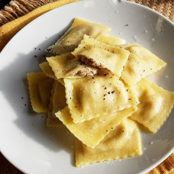 Mushroom & Six Cheese Ravioli